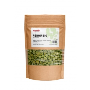 Pérou Bio café vert 250G