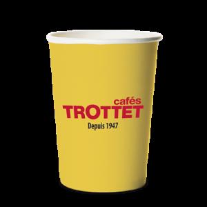 Trottet Gelbe Kartenbecher 30CL