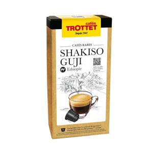 10 Capsules Shakiso Guji Compatibles Nespresso® Cafés Trottet