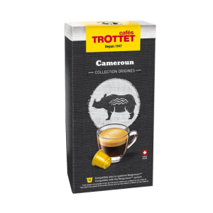 10 Capsules Cameroun Compatibles Nespresso® Cafés Trottet