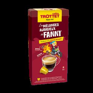 10 Capsules Chaud Devant! Compatibles Nespresso® Cafés Trottet