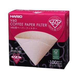 Hario Papierfilter für V60 1-4 Tassen
