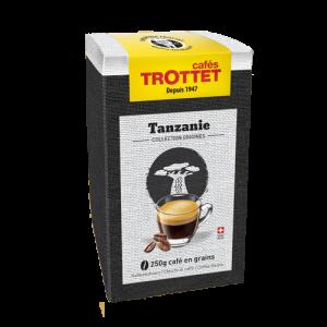 250 gr Café en grain Tanzanie Cafés Trottet