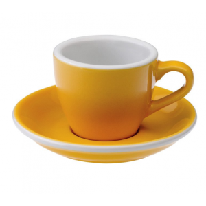Loveramics - Tasses espresso 80ml Jaune 6P