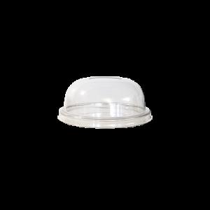 Couvercle Dome transparent avec trou
