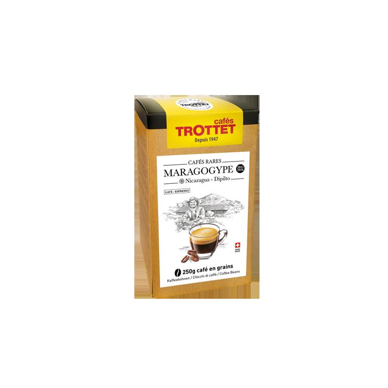 Cafés Trottet 250 gr Café en grain Dipilito Maragogype Cafés Trottet