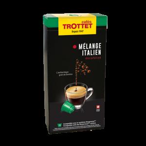 Mélange Italien Déca 10 capsules