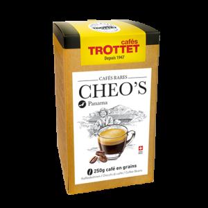 250 gr Café en grain Panama Cheo's Cafés Trottet