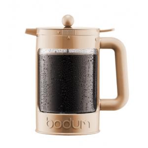 Bodum Cafetière Bean Set Crème 12 tasses