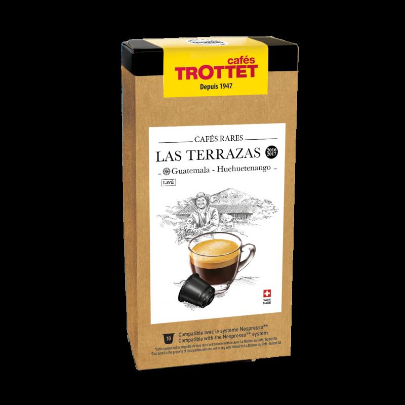 Cafés Trottet Capsules Guatemala Las Terrazas 10s