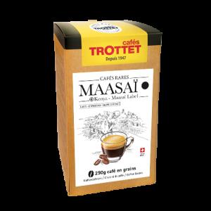 250 gr Café en grain Maasai Kenya Cafés Trottet