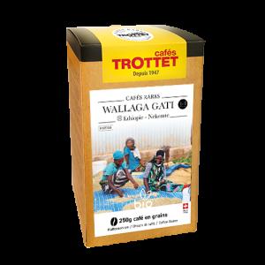 Kaffeebohnen Äthiopien Nekemte Bio 250G Cafés Trottet