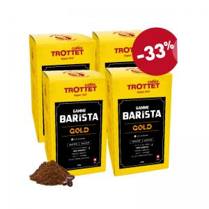 Café en Grains Barista GOLD 4x250G Pack