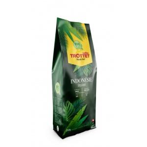 Indonesia Bio Orgaanik Coffeebeans 250G Cafés Trottet