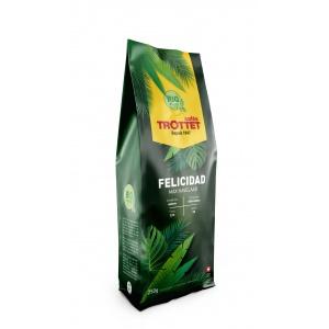 250 gr Café en grain Felicidad Bio Cafés Trottet