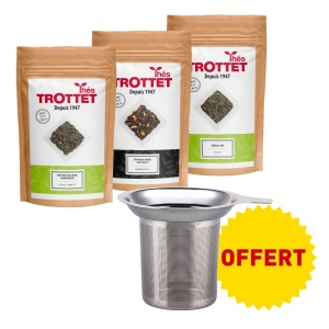 Pack thé vert + infuseur...