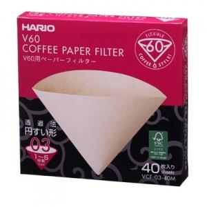 Hario Filtres en papier pour V60 6-8 Tasses