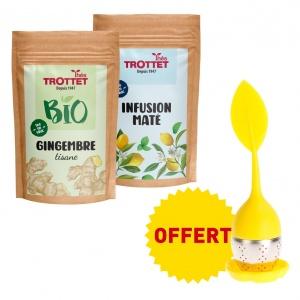 Gigembre & Infusion Maté +...